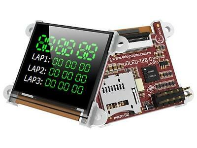 """UOLED-128G2 Display OLED graphical 1.5"""" 128x128 Interface UART 4D SYSTEMS"""