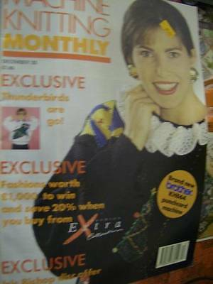 Machine Knitting Monthly Magazine December 1992- 12 Styles/Projects- All Shown-