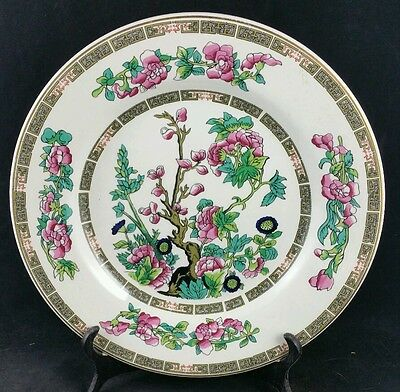 """Lord Nelson Indian Tree Pattern 9"""" Dessert Plate, 1970s"""