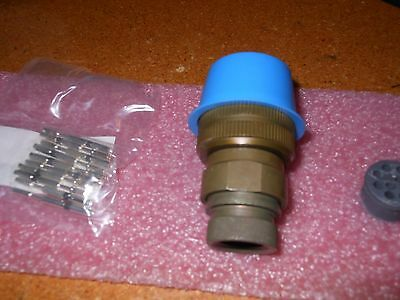 Itt Connector With Contacts # Cir06G2-18-1S-F80 Nsn: 5935-01-327-9100