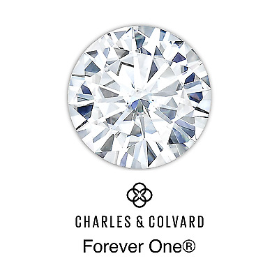 Round Brilliant Cut Forever One® Moissanite Loose Stone Charles & Colvard®