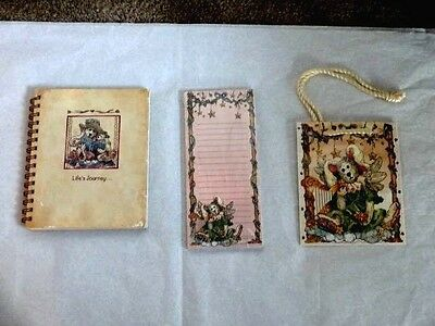 Vintage Boyds Bears Journal Travel Diary Notebook Mint Condition