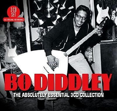 BO DIDDLEY * 60 Greatest Hits* NEW 3-CD BOX SET * All Original Songs * NEW