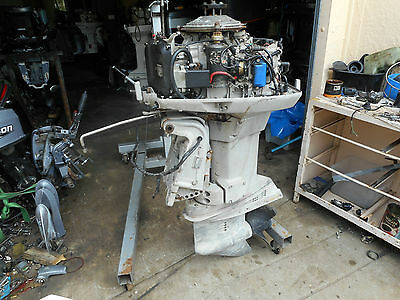 Johnson  Outboard 115Hp Long Shaft, With Remotes   & Cables