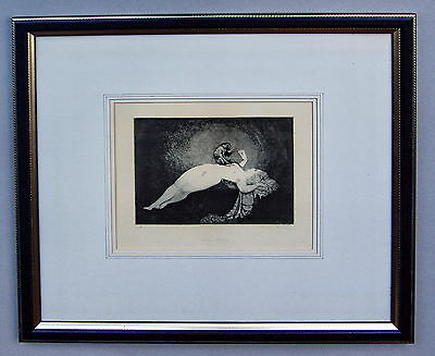 Norman Lindsay Julias Monkey Limited Edition Facsimile Etching NO 10