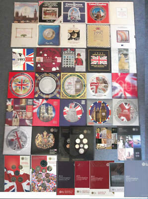 Birthday Coin uncirculated year BU sets 1982 - 2019; gifts or collect FREE UK pp