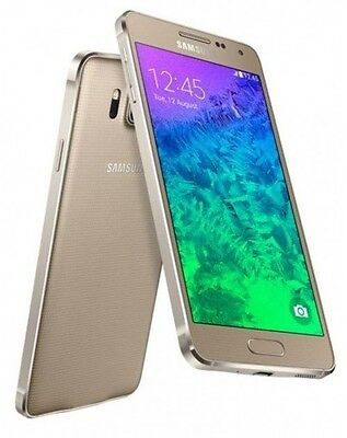 Samsung Galaxy Alpha SM G850Y 32GB Gold Unlocked C *VGC* + Warranty!!