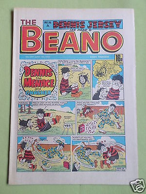 The Beano  - Uk Comic - 14 June 1986 - #2291