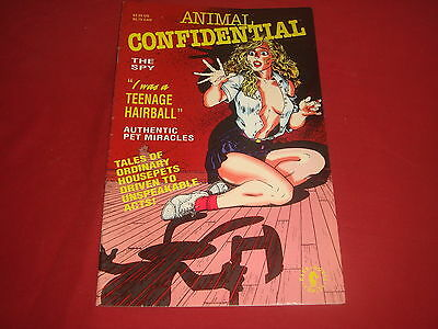 ANIMAL CONFIDENTIAL #1 Dark Horse Comics  1992 VF