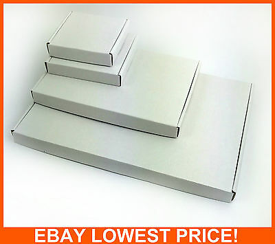 White Postal Cardboard Boxes A4/a5 Large Letter Mailing Parcel Shipping Cartons