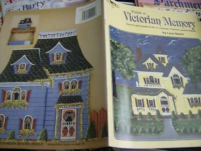 Paint A Victorian Memory Book -Notch, 11 Designs- Buildings, Switchplates, Recip