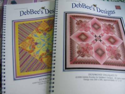 DebBee's Designs Diamond Delight Canvaswork Chart - Your Choice