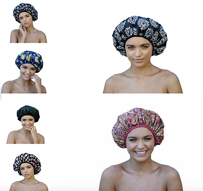 NEW Dillys Collections Extra Large XL Luxury MICROFIBRE Shower Cap Dreadlocks
