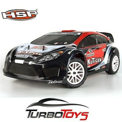 New - Hsp Rc 1/10 2.4Ghz 4Wd Kutiger Brushless Rally Car 94118Pro - With Lipo