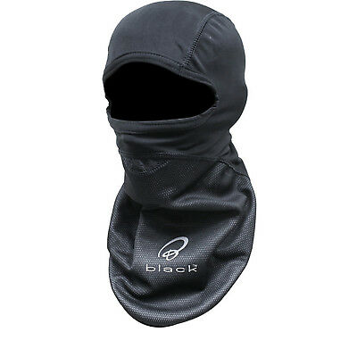 Black Windproof Motorcycle Balaclava Motorbike Helmet Winter Bike Face Thermal