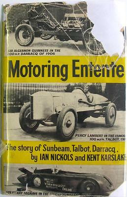 Motoring Entente The Story Of Sunbeam, Talbot, Darrac - Nickols, Karslake Book