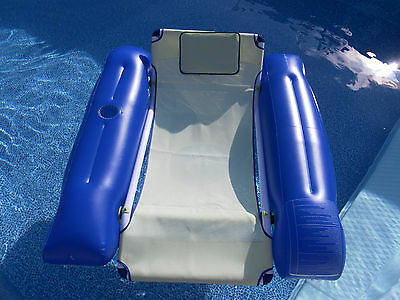 Swimming Pool Deluxe Floating Lounger Chair