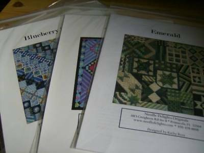 Needle Delights Needlepoint/Canvaswork Chart Your Choice-New Added