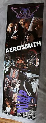Aerosmith Pump 1990 Tyler Perry Whitford Hamilton Kramer Music Door Poster VG