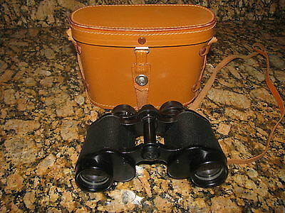 Vintage Rare Simor 8X30 Field 7.5 Degree No 59047 Mint Binoculars  With Case Jpn