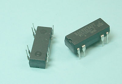 2pcs Magnecraft W172DIP-5, Reed Relay, SPDT, 5VDC, 0.25A, THD
