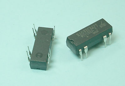 NEW 2pcs Magnecraft W172DIP-5, Reed Relay, SPDT, 5VDC, 0.25A, THD