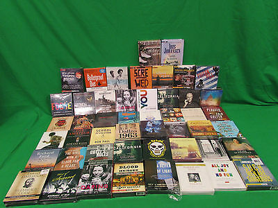 Wholesale Lot 49 New Audio books on CD lot #11 fiction & Non-Fiction Historical