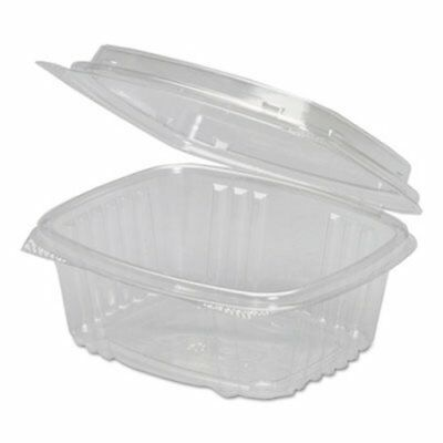 12-oz. Plastic Hinged Deli Container, 200 Containers (GNP AD12)