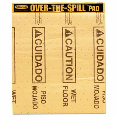 Rubbermaid 4254 Over-the-Spill Absorbent Spill Pad Cover (RCP 4254 YEL)