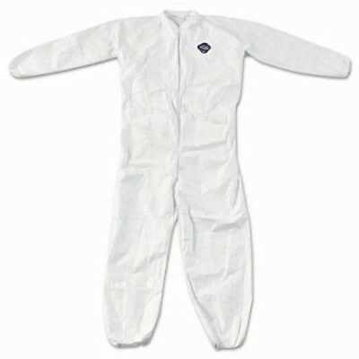 DuPont Tyvek Elastic-Cuff Coveralls, White, XXXX-Large, 25/Ctn (DUP TY125S4XL)