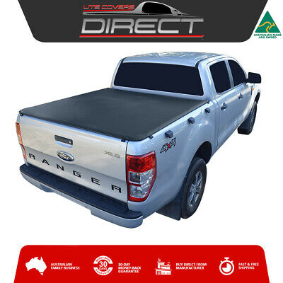Ford Ranger PX Dual Cab Ute (Sept2011-May2015) ClipOn Tonneau Cover-No Loadrest