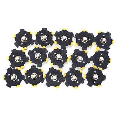 14Pcs Golf Shoe Spikes Sports Replacement Champ Cleat Screw Fast Twist Foot
