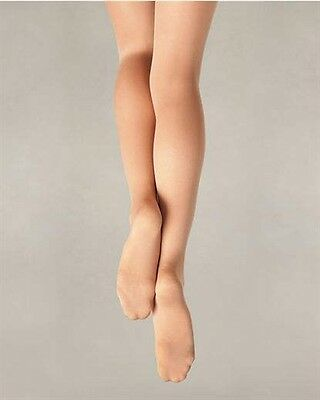 Capezio Ultra Soft Footed Tights for Girls New Style 1815C, 1815X