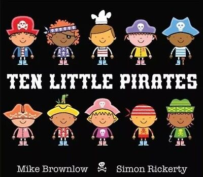 Ten Little Pirates by Mike Brownlow (Hardback, 2015)