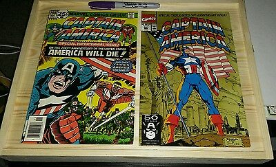 Captain America #200 & #383..2 COMIC LOT! C PHOTOS + DESCRIPTION