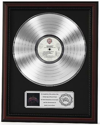 "John Fogerty Centerfield Platinum Lp Record Framed Cherrywood Display ""k1"""