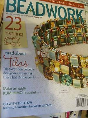 Beadwork Jewelry Magazine November 2012 -23 Designs NEW