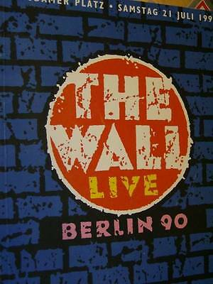 The Wall Live Berlin 1990 German/English Program Disaster Relief