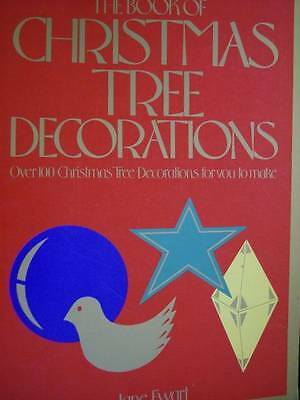 Book Of Christmas Tree Decorations Paper Craft Book -100 Projects, Jane Ewart