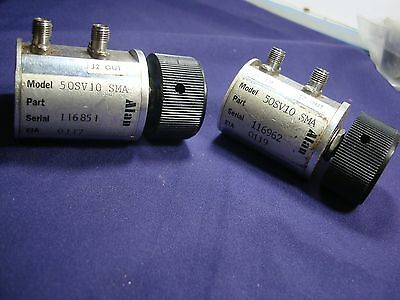 Alan 50Sv10 Sma Step Attenuator 10 Steps Sma-F Connectors