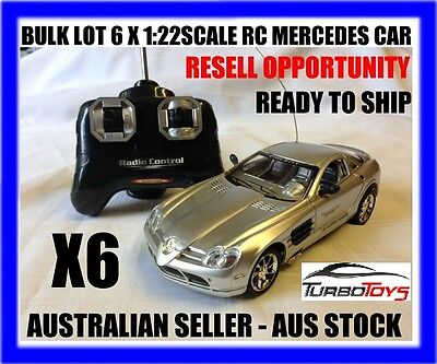 Bulk Lot Of 6 X Rc 1/22 Rc Mercedes Cars - Resell Opportunity - Aus Seller