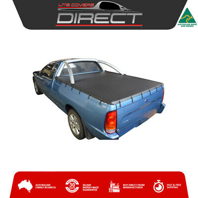 Ford Falcon AU-BA-BF Ute (1999-May2008) Bunji Tonneau Cover-fits Factory S/bars