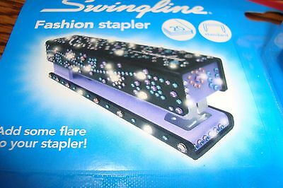 SWINGLINE Fashion Stapler * ADD Bling & Flare with over 200 Pieces of BLING