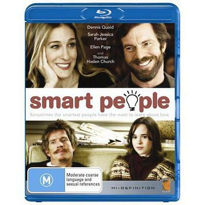 Smart People Blu Ray Comedy Romance Dennis Quaid Sarah Jessica Reg B Brand New