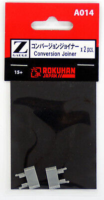 Rokuhan A014 Conversion Joiner 2 pcs. (1/220 Z Scale)