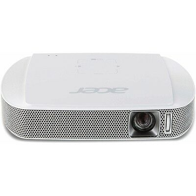 Acer C205 Weiss Dlp-Projektor Hdmi Mhl Anschluss Eco-Modus Led, Stereo Sound