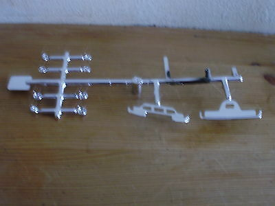 Pre Production Corgi Ford Cortina Mk1  plated parts still on factory sprue