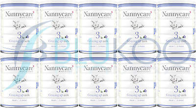 NANNYCare Stage 3 Growing Up Milk - 900g (Pack of 10)