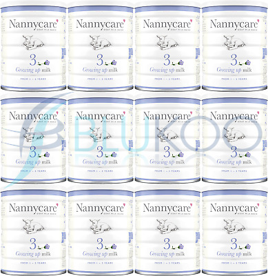 NANNYCare Stage 3 Growing Up Milk - 900g (Pack of 12)