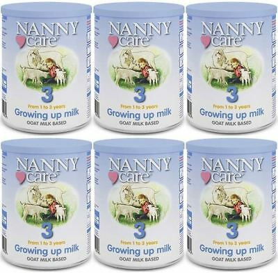 NANNYCare Stage 3 Growing Up Milk - 400g (Pack of 6)